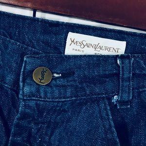 436da1b9de Vintage YSL Yves Saint Laurent High waisted jeans